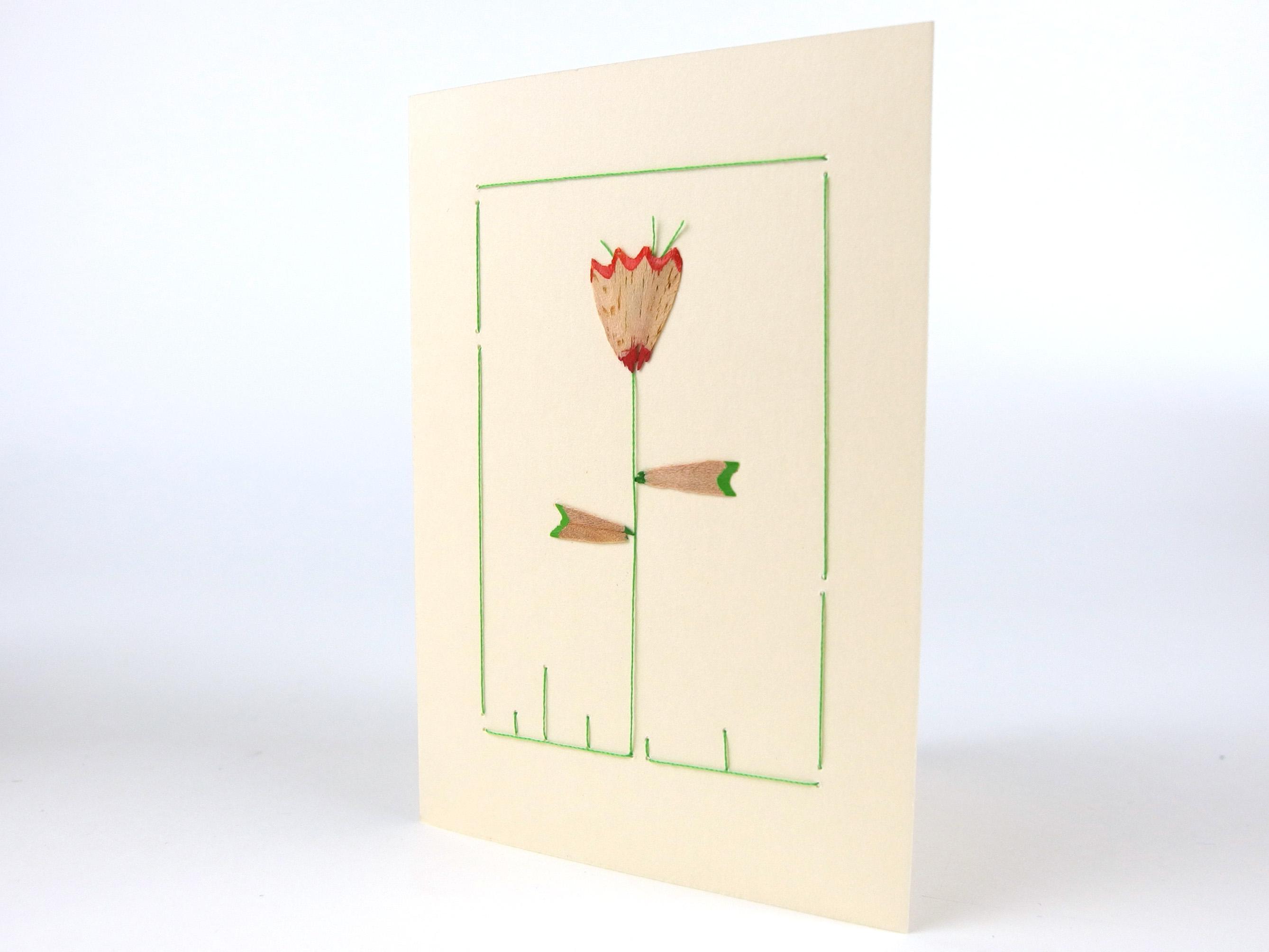 Blume Bleistift