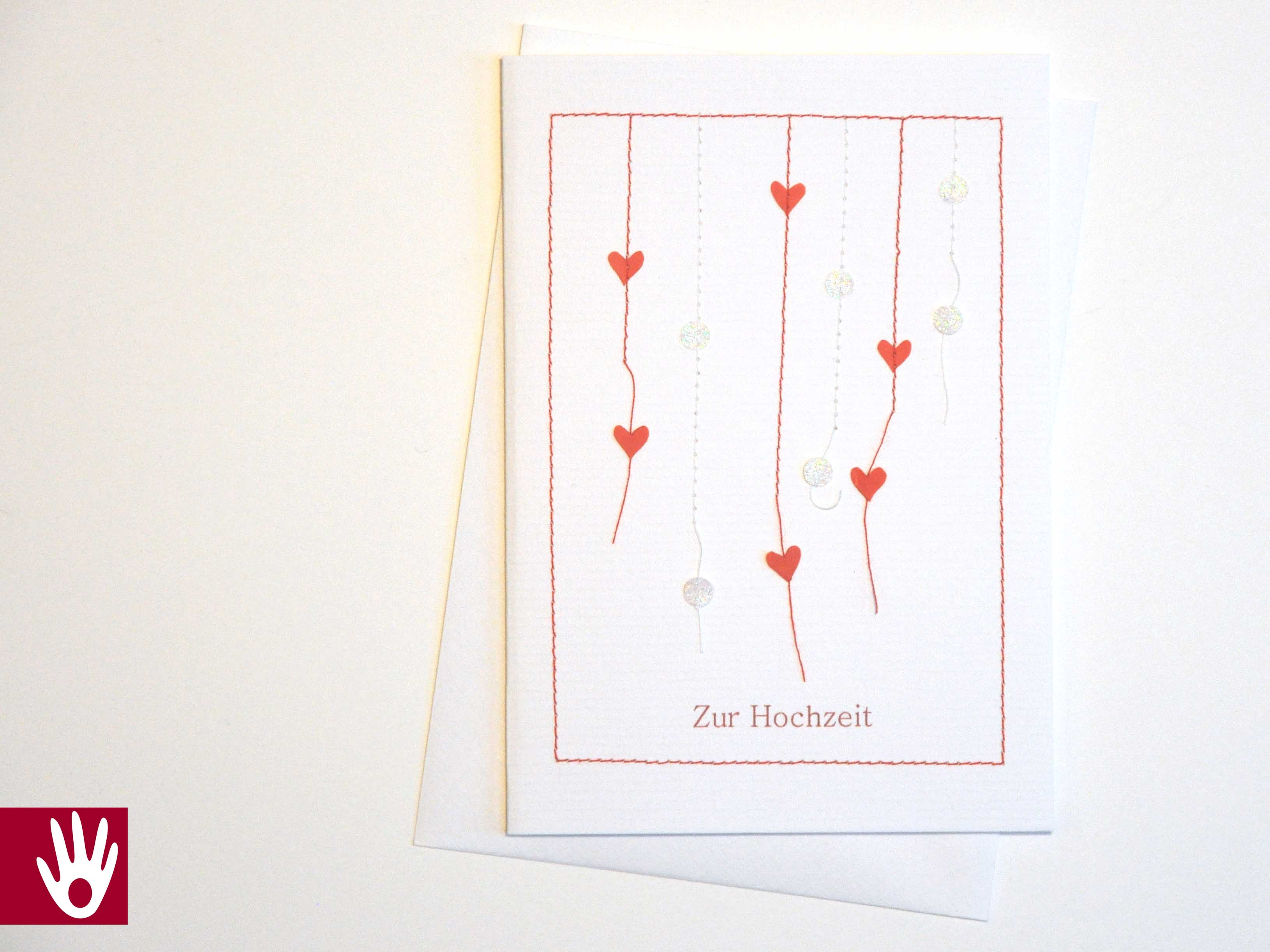 Hochzeit Herzkonfetti