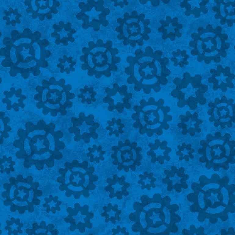 154 blumen blau